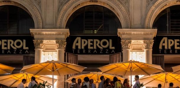 Terrazza Aperol, A Paradise in Orange |